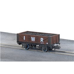 Mineral, 5 plank open wagon I.W.R. No. 29