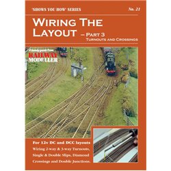 Wiring the Layout Part 3 – Turnouts and Crossings