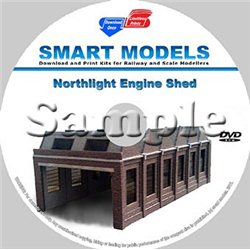 North Light Engine Shed-OO