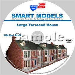 Large Terraced House Old Red Brick-N