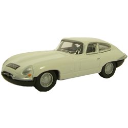 Jaguar E-Type Series 1 coupe in old english white