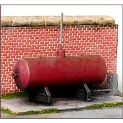 Small oil/gas tank + extras