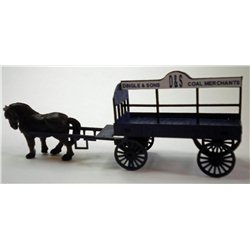 OO Gauge Horse Drawn Coal wagon kit