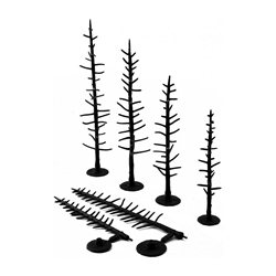 "4 - 6"" Pine - Tree Armatures - Pack Of 44"