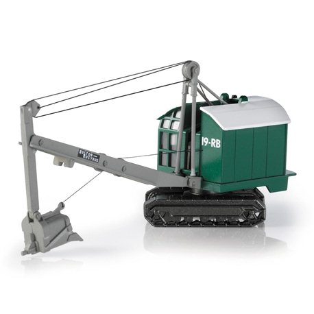 Ruston Bucyrus 19 - Drag Shovel - Green