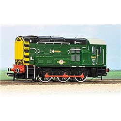Class 08 08011 'Haversham' BR Green with Wasp Stripes