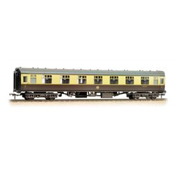 BR Mk1 FK First Corridor (WR) Chocolate & Cream Weathered