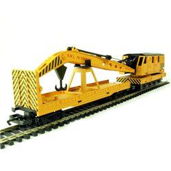 RailRoad Breakdown Crane - Yellow
