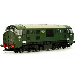 CLASS 22 D6326 BR Green no yellow warning panel Disc H/C