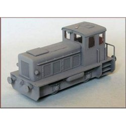 Diesel 0-4-0 industrial shunter type RK20B