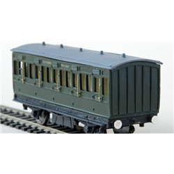 LBSCR Full 3rd 4 Wheel Stroudley Coach
