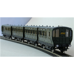 LBSCR Stroudley 4-wheel coaches as running on the Isle of Wight 1923 - 1931