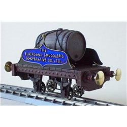Gn15 Brandy Wine Barrel Waggon Kit