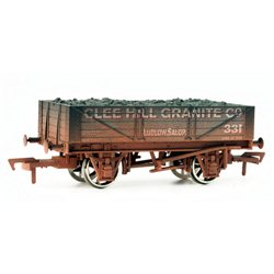 "4 plank wagon ""Clee Hill Granite"" - weathered"