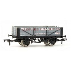 "4 plank wagon ""Clee Hill Granite"""