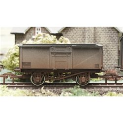 16 Ton Steel Mineral Wagon BR Grey Weathered