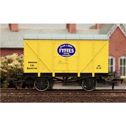 Fyffes banana van - yellow